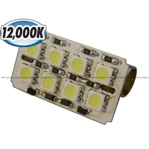 汎用LEDルームランプ 12000Kシリーズ 基盤型(8SMD/3chip)A|californiacustom