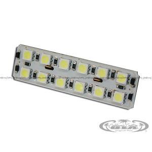 汎用LEDルームランプ 12000Kシリーズ 基盤型(12SMD/3chip)B|californiacustom