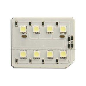 汎用LEDルームランプ 12000Kシリーズ 基盤型(8SMD/3chip)BR|californiacustom