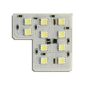 汎用LEDルームランプ 12000Kシリーズ 基盤型(10SMD/3chip)AR|californiacustom