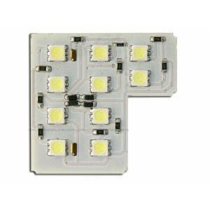 汎用LEDルームランプ 12000Kシリーズ 基盤型(10SMD/3chip)AL|californiacustom