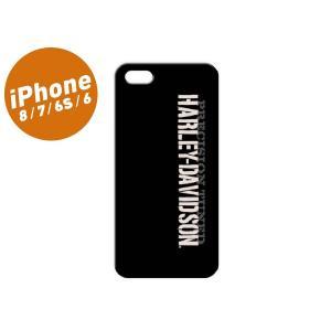 ハーレー・ダビッドソンオフィシャルライセンス商品の、iPhoneケースです。 マットブラックの地に「...