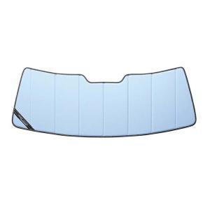 【専用設計】CoverCraft製/UVS100 高品質 サンシェード/日除け(ブルーメタリック) 2006-2010y ジープ コマンダー カバークラフト MADE IN USA|californiacustom