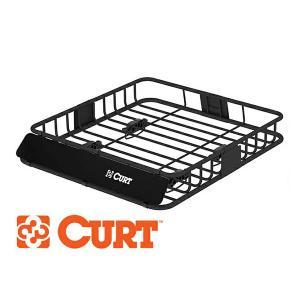 CURT製 カート ルーフラック (ルーフマウントカーゴラック /ルーフバスケット) 18115|californiacustom