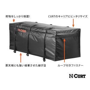 CURT ルーフキャリア/カーゴキャリア用 防水バッグ 18211 サイズ:約142cm×56cm×56cm 425リットル|californiacustom|02