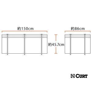 CURT ルーフキャリア/カーゴキャリア用 防水バッグ 18221 サイズ:約150cm×86cm×45.7cm 592リットル californiacustom 09
