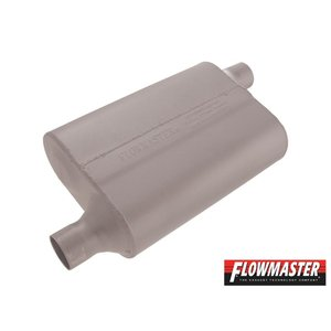 FLOW MASTER 40 デルタ フロー マフラー - 2.00 Offset In / 2.00 Offset Out - Aggressive Soun|californiacustom