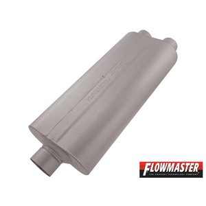 FLOW MASTER 70 シリーズ マフラー - 3.00 Center In / 2.50 Dual Out - Mild Sound|californiacustom