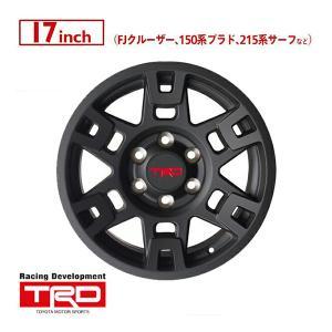 USトヨタ純正 TRD 17インチホイール/マットブラック PTR20-35110-BK(4本SET...