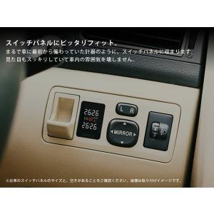 [Limited Design] トヨタ ハイエース 200系 (4型 5型) 空気圧モニタリングシステム TY912 (ブラックセンサー) ワイヤレス 空気圧モニター/TPMSモニター californiacustom 05