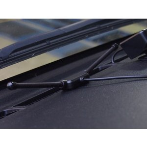 汎用 タイヤ 空気圧モニタリングシステム 温度/電圧 U901 (ブラックセンサー/6輪トラック対応) ワイヤレス 空気圧モニター/TPMSモニター|californiacustom|08