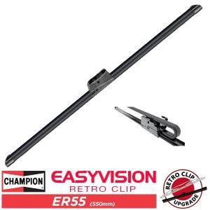 CHAMPION チャンピオン イージーヴィジョンワイパーブレード ER55(550mm) (00-06y タホ、サバーバン、ユーコン 02-04y エクスプローラー 05-09y マスタング他)|californiacustom