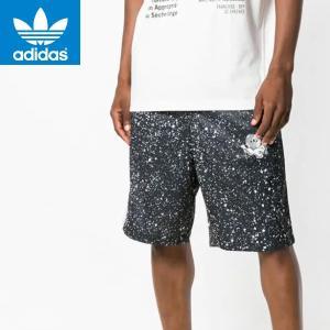 adidasアディダスオリジナルス正規品メンズ短パン ハーフパンツ星宇宙プリント|californiastyle