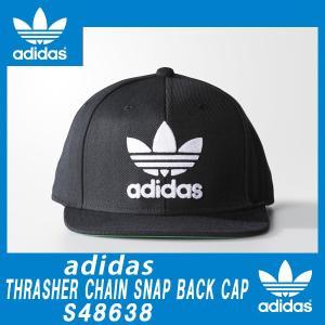 Adidas Originals THRASHER CHAIN SNAP BACK CAP BLACK/WHITE アディダス オリジナルス|californiastyle