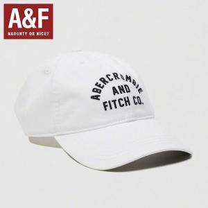 Abercrombie&Fitchアバクロンビーアンドフィッチ正規品メンズ帽子LOGO TWILL HAT|californiastyle