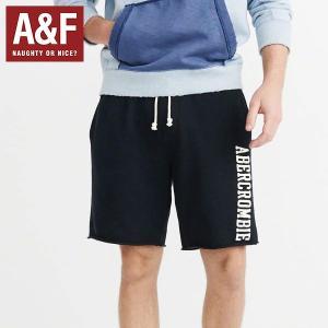 Abercrombie & Fitchアバクロンビーアンドフィッチ正規品ハーフパンツ 短パン スエットパンツ紺 californiastyle