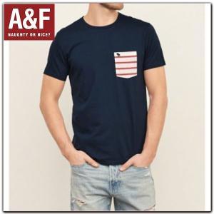 アバクロ Tシャツ 正規 メンズ Abercrombie & Fitch アバクロンビー アンド フィッチ ロゴプリント 半袖TEEシャツ californiastyle
