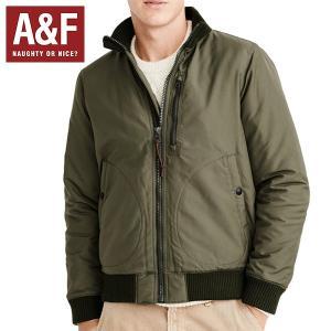 Abercrombie&Fitch アバクロンビーアンドフィッチ正規品 メンズ アウター MA-1 ボンバージャケット|californiastyle