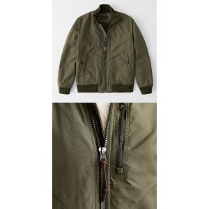 Abercrombie&Fitch アバクロンビーアンドフィッチ正規品 メンズ アウター MA-1 ボンバージャケット|californiastyle|04