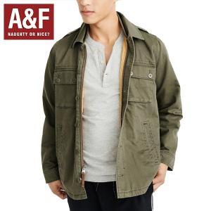 Abercrombie & Fitchアバクロンビーアンドフィッチ正規品メンズミリタリージャケット キルティングアウター|californiastyle