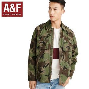 Abercrombie&Fitchアバクロンビーアンドフィッチ正規品メンズミリタリーシャツジャケット|californiastyle