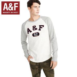 Abercrombie&Fitch 正規品アバクロンビーアンドフィッチ ロンTEEメンズクルーネック 長袖Tシャツ|californiastyle