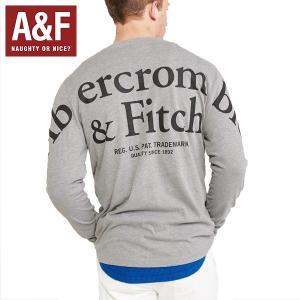 Abercrombie & Fitchアバクロンビーアンドフィッチ正規品メンズ長袖Tシャツ|californiastyle