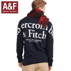 Abercrombie & Fitchアバクロンビーアンドフィッチ正規品メンズ長袖Tシャツバック|californiastyle