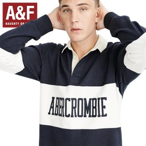 Abercrombie&Fitchアバクロンビーアンドフィッチ正規品メンズ長袖ラガーシャツ|californiastyle