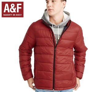 Abercrombie&Fitchアバクロンビーアンドフィッチ正規品メンズ フード取外し可能ダウンジャケット|californiastyle