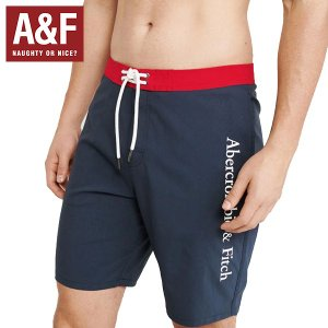 Abercrombie&Fitchアバクロンビーアンドフィッチ正規品メンズ水着ボードショーツ ライナー付き|californiastyle