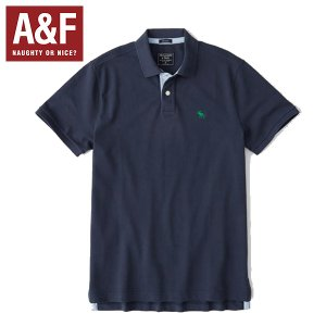 Abercrombie & Fitchアバクロンビーアンドフィッチ正規品メンズ半袖ポロシャツ californiastyle