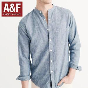 Abercrombie & Fitchアバクロンビーアンドフィッチ正規品メンズ シャンブレー|californiastyle