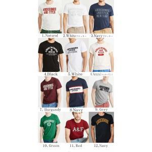 アバクロ メンズ アバクロ Tシャツ 正規 アップリケ刺繍アバクロンビー アンド フィッチ Abercrombie & Fitch|californiastyle|02