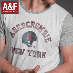 アバクロ Tシャツ 半袖 メンズ アバクロンビー&フィッチ 正規品保証 Abercrombie&Fitch ビンテージトリムTEE californiastyle