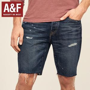 Abercrombie Denim Shorts Dark Destroy アバクロ ダメージ加工|californiastyle