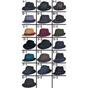 帽子 メンズ レディース ハット 中折れハット ハット帽 ウール|californiastyle|02
