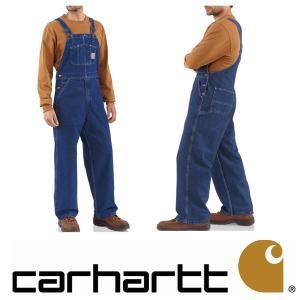 カーハート Carhartt メンズ ウォッシュドデニム オーバーオール R07DST Washed Denim Bib Overall パンツ デニム californiastyle