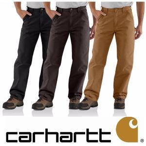 カーハート Carhartt Men's Washed Duck Work Dungaree ペインターパンツ メンズ ワークパンツ B11-DKB B11-BLK|californiastyle