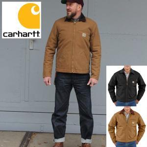 carhartt カーハート正規品ダックデトロイトジャケット カバーオールDUCK DETROIT JACKET|californiastyle
