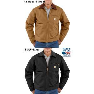 carhartt カーハート正規品ダックデトロイトジャケット カバーオールDUCK DETROIT JACKET|californiastyle|02