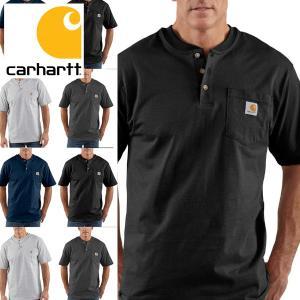 カーハート Carhartt Tシャツ メンズ 半袖 ヘンリーネック TEEシャツ 正規品 californiastyle