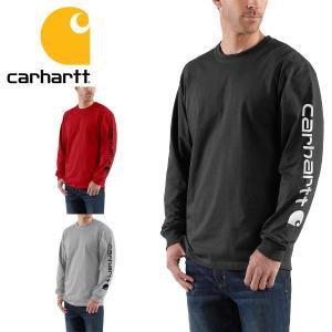 Carhartt カーハート Tシャツ メンズ 正規品 長袖 TEE ロンTシャツ|californiastyle