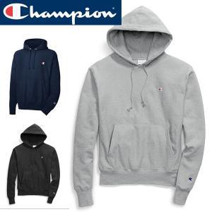 Champion チャンピオン正規品メンズ リバースウィーブプルオーバーパーカーフード|californiastyle