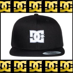 DC SHOES ディーシーシュー 帽子キャップ黒スナップバック|californiastyle