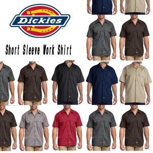 DICKIESディッキーズ正規品 半袖シャツ1574ショートスリーブワークシャツ|californiastyle