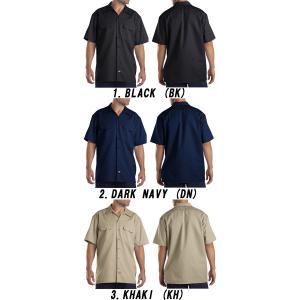 DICKIESディッキーズ正規品 半袖シャツ1574ショートスリーブワークシャツ|californiastyle|02