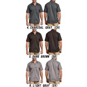 DICKIESディッキーズ正規品 半袖シャツ1574ショートスリーブワークシャツ|californiastyle|03