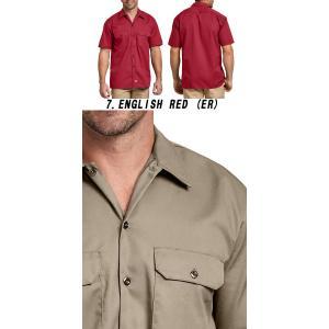 DICKIESディッキーズ正規品 半袖シャツ1574ショートスリーブワークシャツ|californiastyle|04