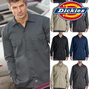 DICKIESディッキーズ 正規品メンズLong Sleeve original fit作業服574 長袖 ワークシャツ|californiastyle